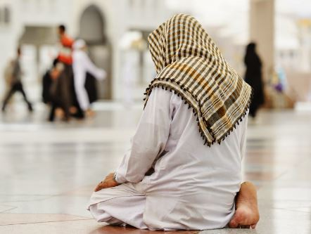 Tata Cara Sholat duduk tasyahud
